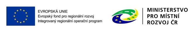 Logo Evropského fondu pro regionální rozvoj
