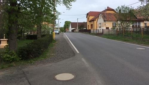 NÁZEV PROJEKTU:  Chodník podél sil. III/1149 v obci Felbabka  II. etapa